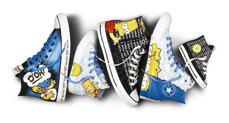 [18/06/13] Converse® a lancé de nouvelles chaussures ... à l'éfigie des Simpsons Conver11