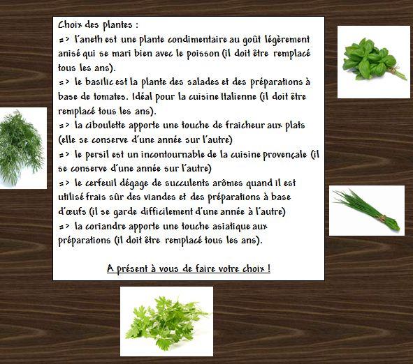 Fiche Réalisation d'une jardinière de fines herbes...  Fine_h20