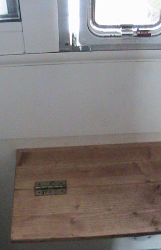 Aménagement rebord de fenêtre H111