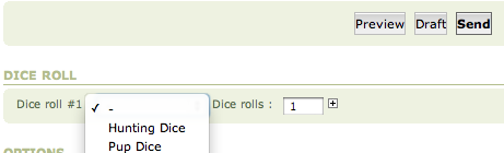 Role-Playing with Dices Screen14