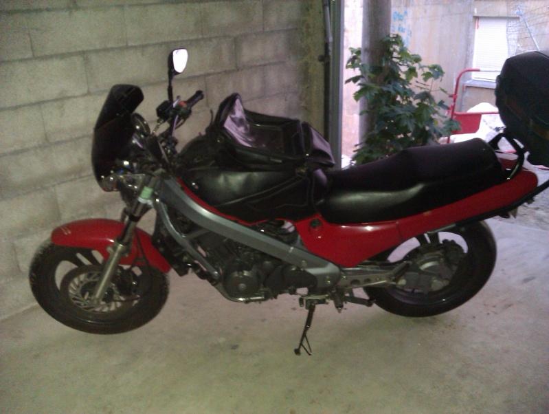 ( vendue ) HONDA 650 NTV année 1995 - 77000 Km - 500 euros Imag0211