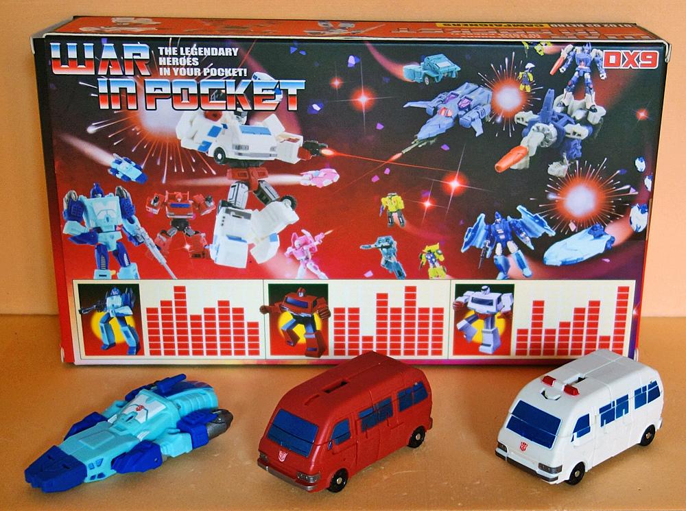 Collection de TransFarmer Blurr-10