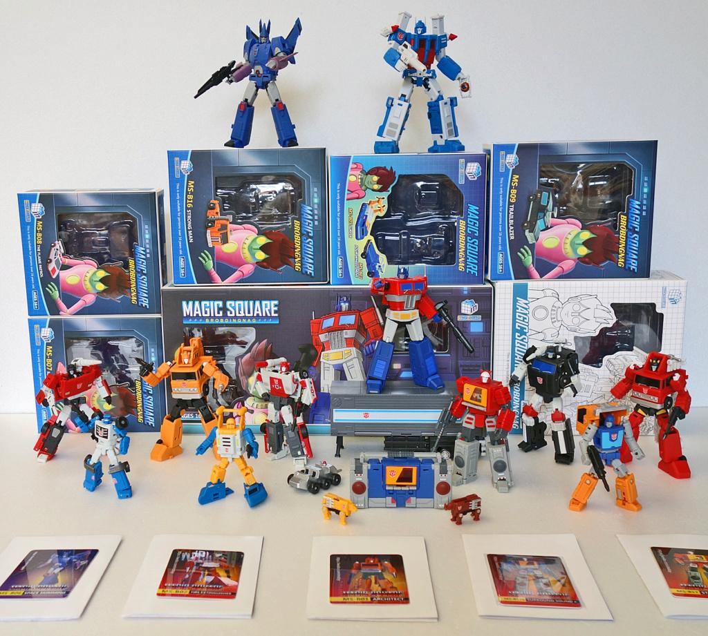 Collection de TransFarmer Collec12