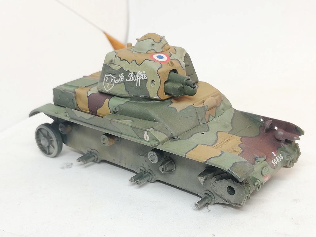 """R35 Tamiya 1.35 """"Hommage à nos tankistes : 80 ans de la Bataille de France"""" 96095610"""