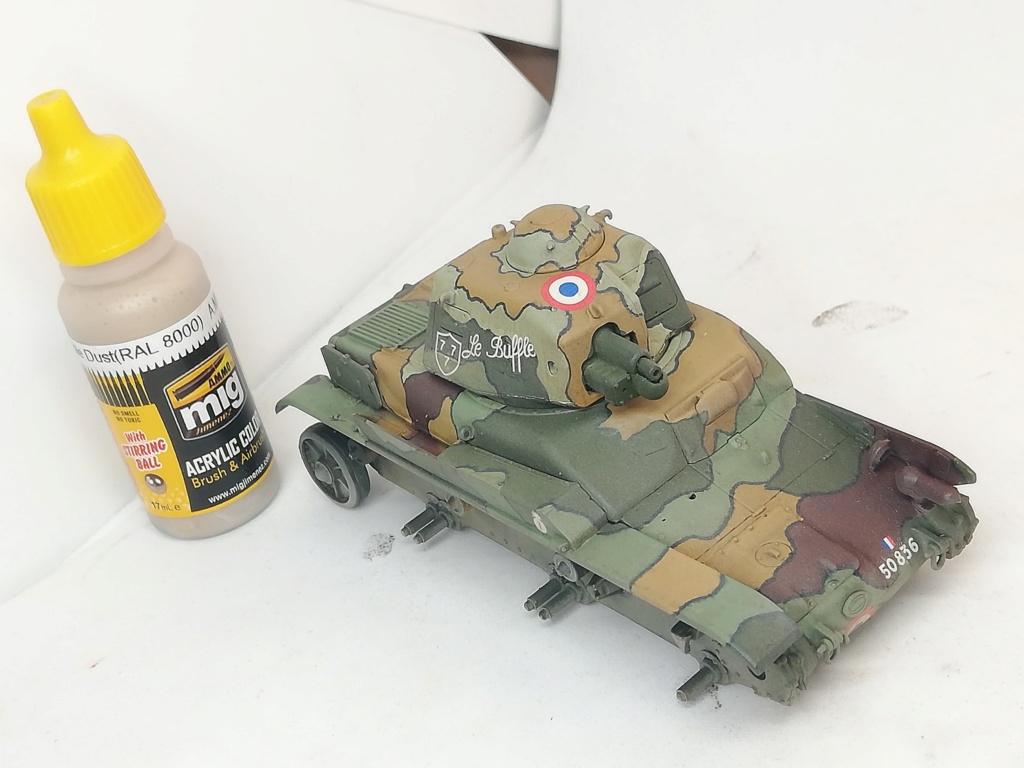 """R35 Tamiya 1.35 """"Hommage à nos tankistes : 80 ans de la Bataille de France"""" 96243910"""