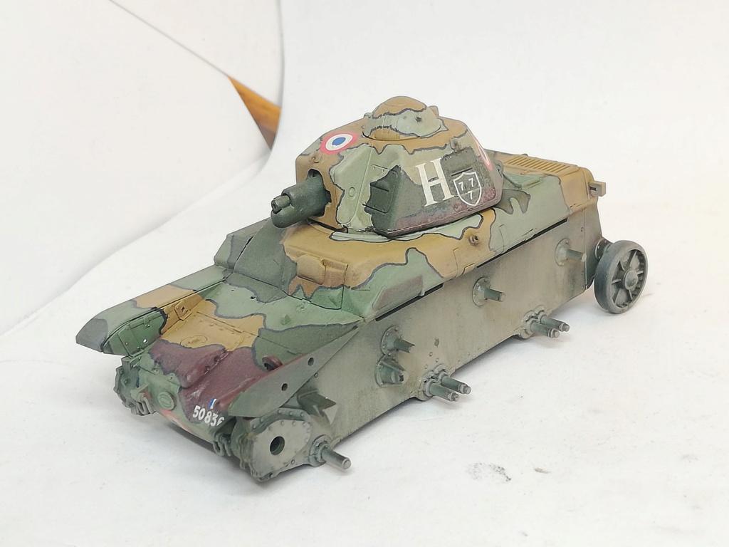 """R35 Tamiya 1.35 """"Hommage à nos tankistes : 80 ans de la Bataille de France"""" 96499310"""