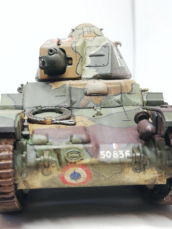"""R35 Tamiya 1.35 """"Hommage à nos tankistes : 80 ans de la Bataille de France"""" 97005610"""