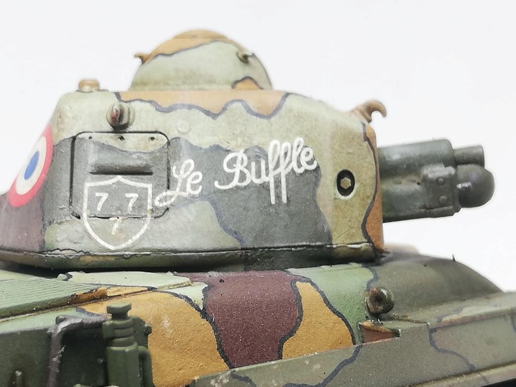 """R35 Tamiya 1.35 """"Hommage à nos tankistes : 80 ans de la Bataille de France"""" 97039210"""