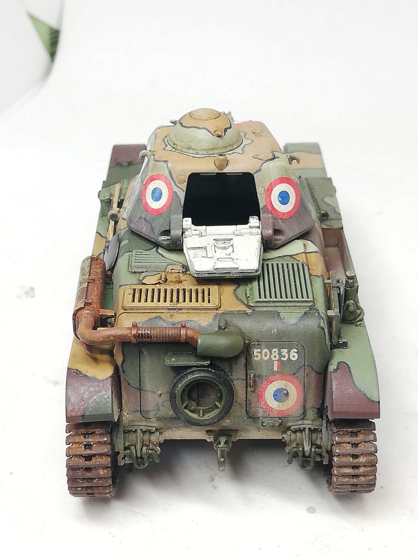 """R35 Tamiya 1.35 """"Hommage à nos tankistes : 80 ans de la Bataille de France"""" 98038710"""