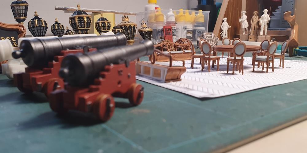Chaises, canons, bancs et parquets 0910