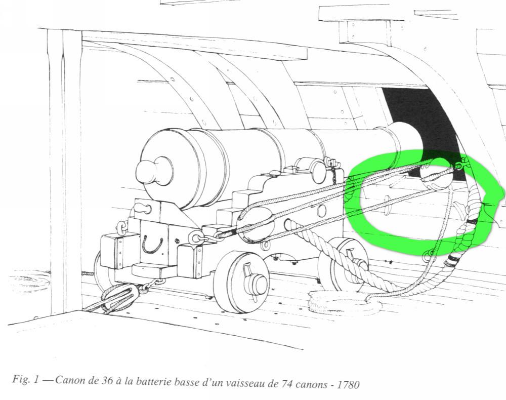 Canons de vaisseau 74 canons (Création 3D) par Greg_3D - Page 6 Canon_12