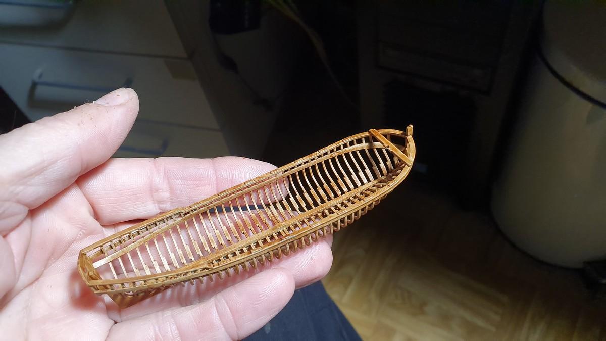 Canot d'un vaisseau du XVIII ème en 3D et en résine Canot_10