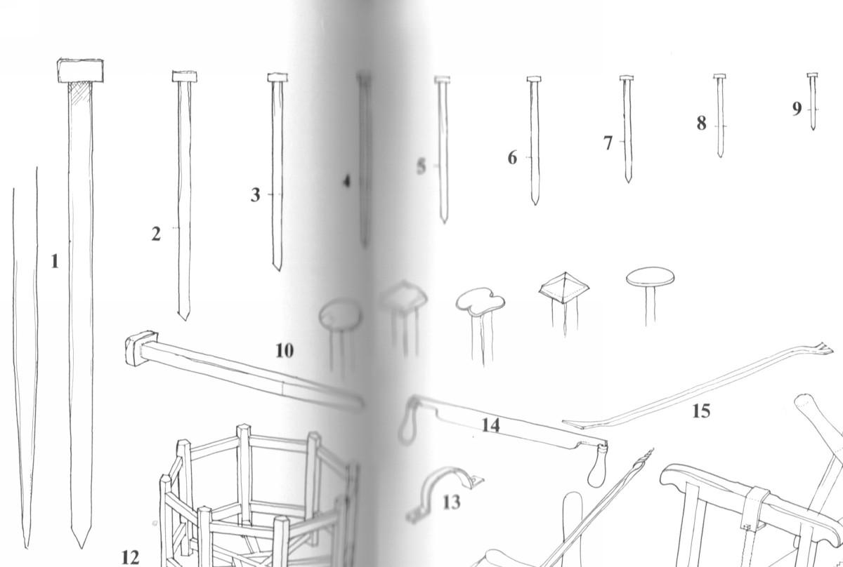 Canons de vaisseau 74 canons (Création 3D) par Greg_3D - Page 7 Clous010