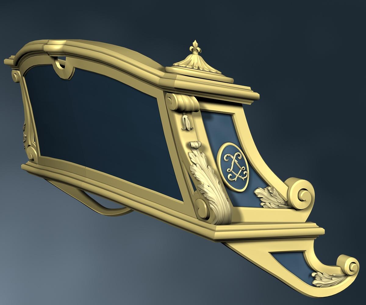Modèle de La Belle, en 3D par B. Huc - Page 2 D10