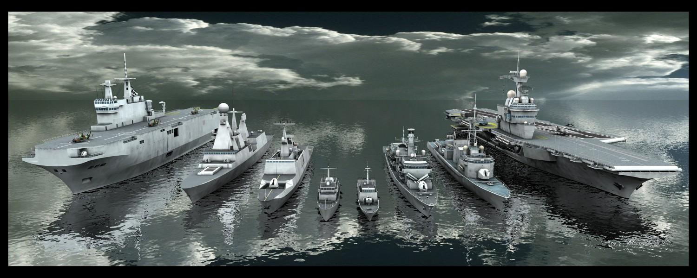 La flotte Française en 3D Flotte10