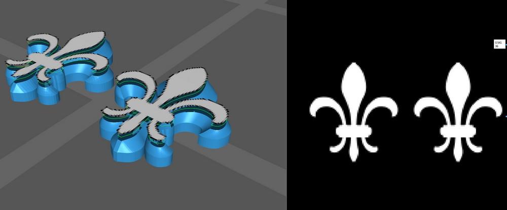 Brouillons: quand la sculpture virtuelle remplace l'argile - Page 2 Lys_2210