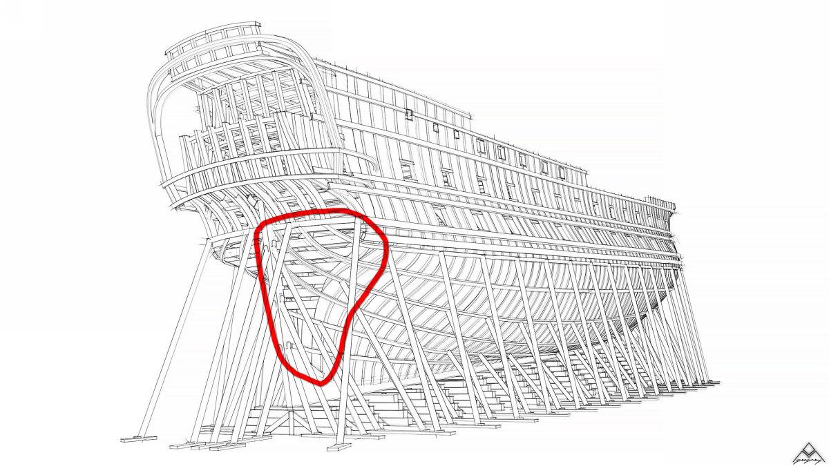 Vaisseau 74 canons Lucide [Création 3D] de Greg_3D - Page 19 Navire11