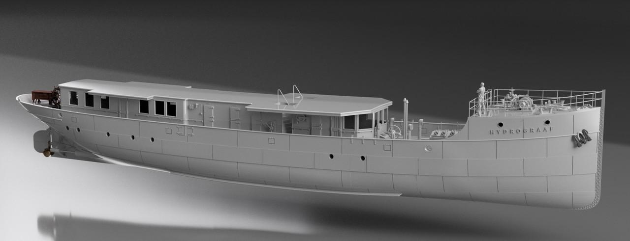 SS Hydrograaf [Numérisation & Impression 3D 1/100°] de Iceman29 - Page 5 Screen20