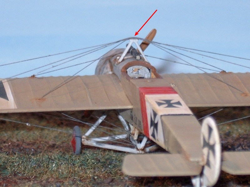 [revell] Fokker E.III UDET a ses débuts Finit_10