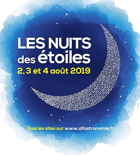 NUIT DES ETOILES vendredi 2 août 2019 à Floirac (33) Affich11