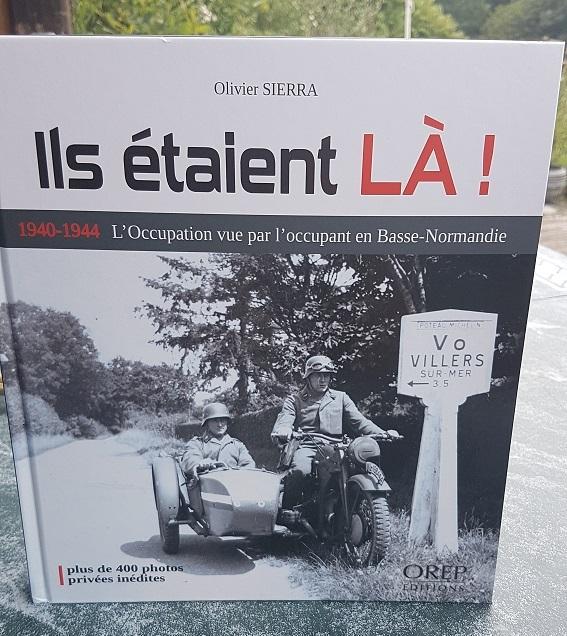 Calot Luft + Livre Photos Basse-Normandie 1940-1944 20180827