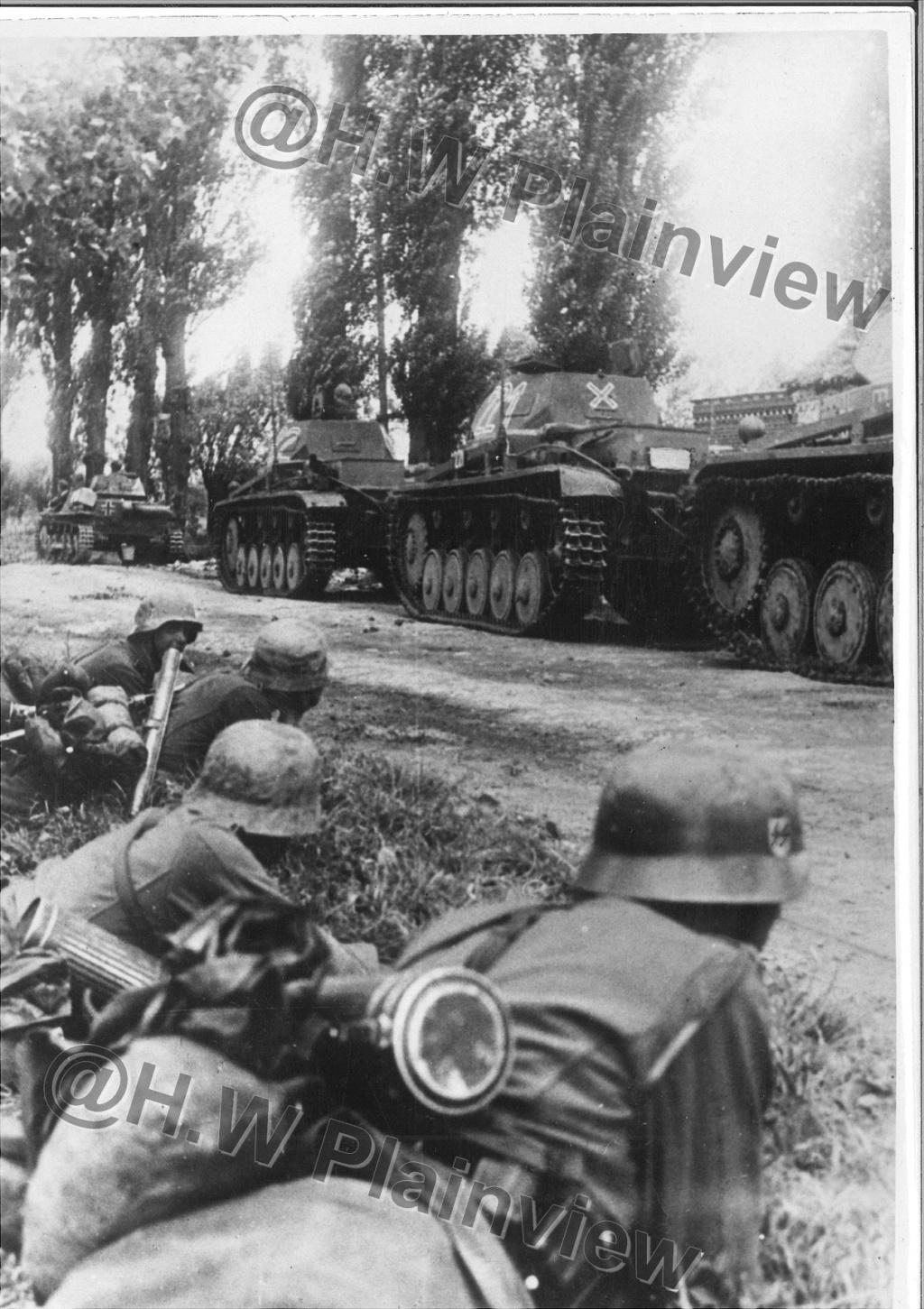 """Photo de Presse """"SS""""' Germania / Das Reich dans le Pas-de-Calais. 3178_010"""