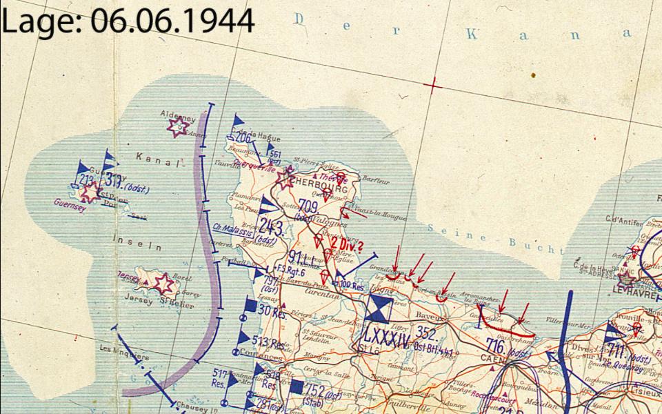 Diplome EK2 / Kampfgruppe Cherbourg Juin 1944 ! Captur31