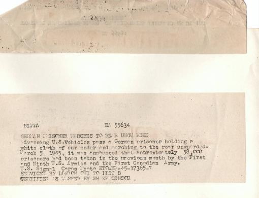 Enorme lot de Photos de Presses  US / Canada/ UK en Europe et Asie 1944/45 !!! Image_13