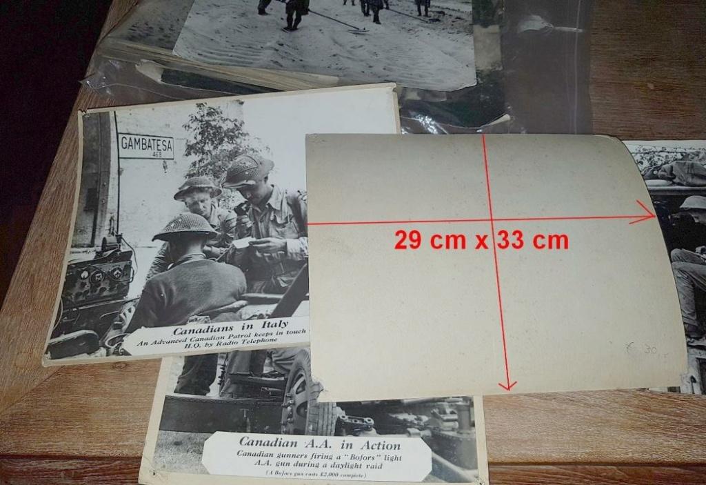 Enorme lot de Photos de Presses  US / Canada/ UK en Europe et Asie 1944/45 !!! Image_42