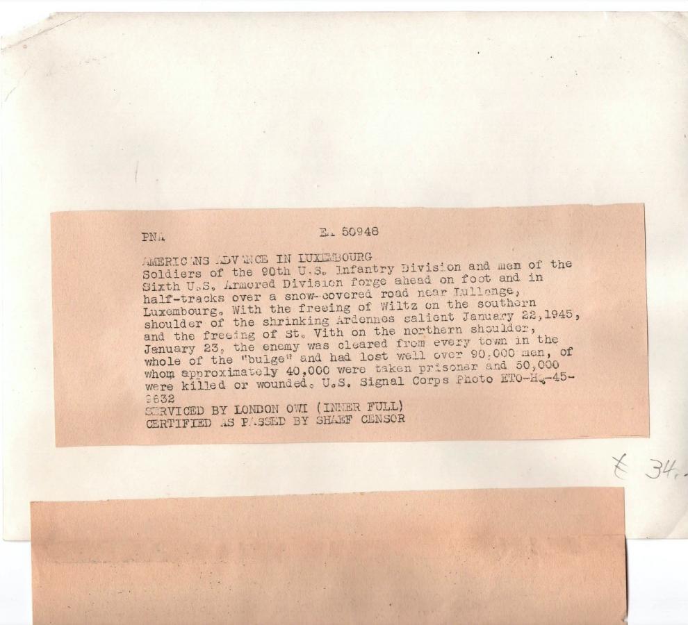 Enorme lot de Photos de Presses  US / Canada/ UK en Europe et Asie 1944/45 !!! Image_48