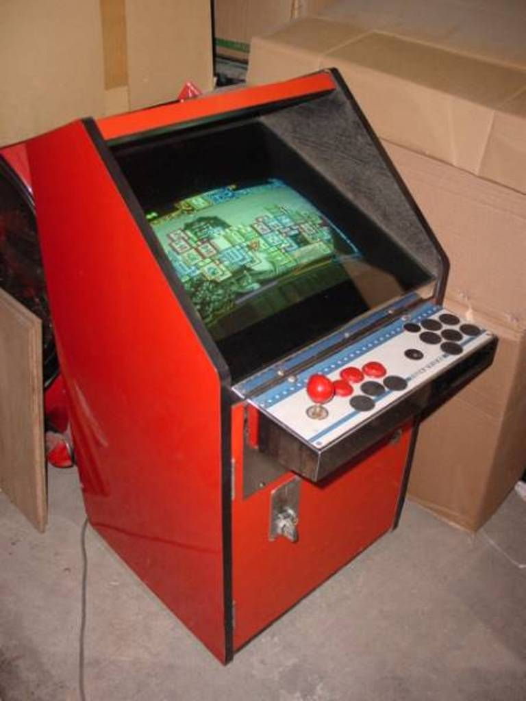 [DIY] 4ème projet: Mini Arcade Candy Dagashiya Cabinet (100%) 01_210