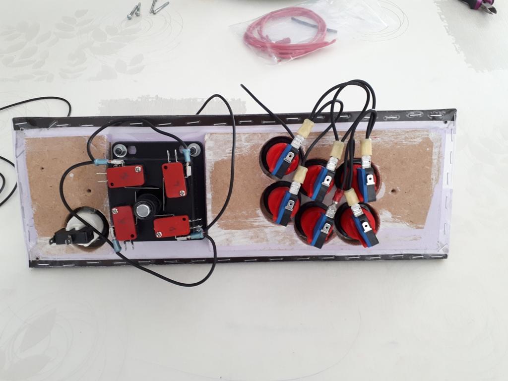 [DIY] 4ème projet: Mini Arcade Candy Dagashiya Cabinet (100%) 0510
