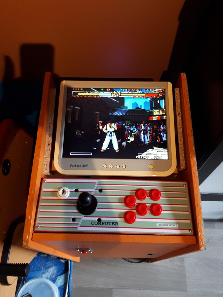 [DIY] 4ème projet: Mini Arcade Candy Dagashiya Cabinet (100%) 1110