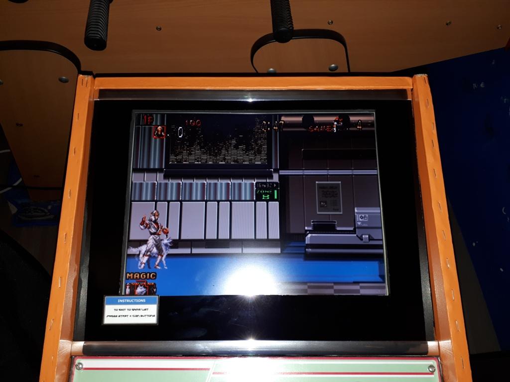 [DIY] 4ème projet: Mini Arcade Candy Dagashiya Cabinet (100%) 1210