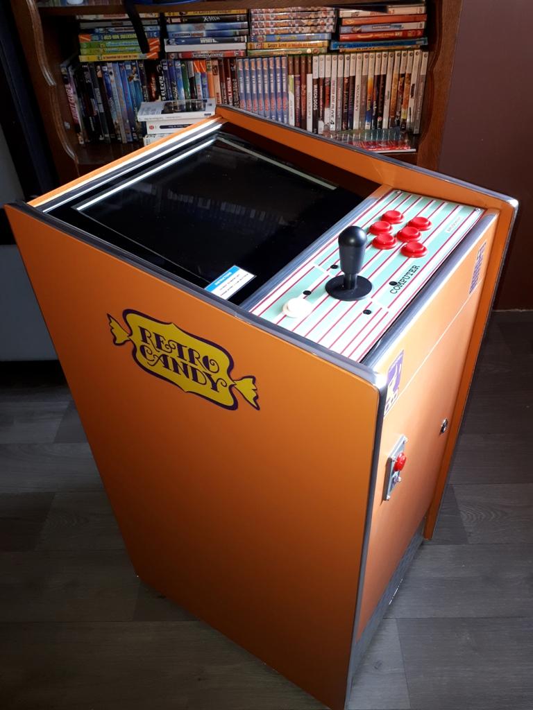 [DIY] 4ème projet: Mini Arcade Candy Dagashiya Cabinet (100%) 1610