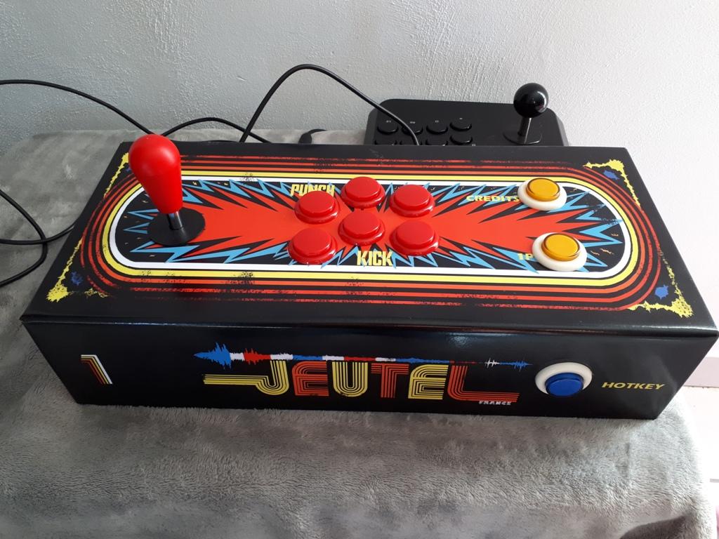 [DIY] Panel Neo-Geo homemade 20190613