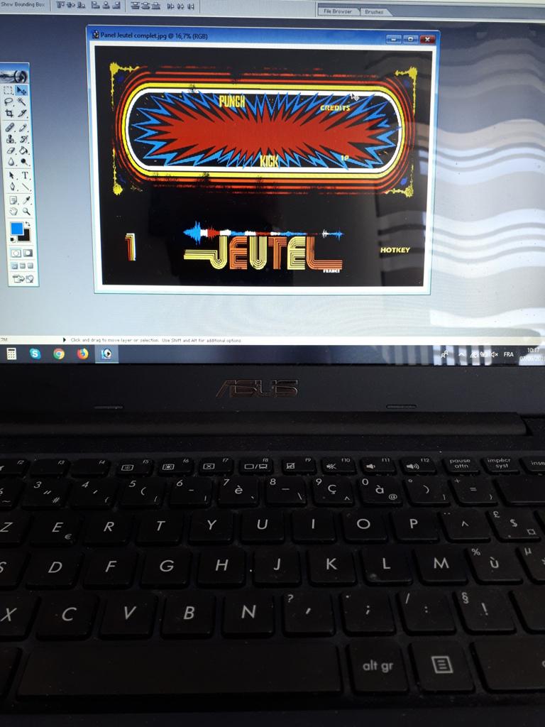 [DIY] Panel Neo-Geo homemade 20190614