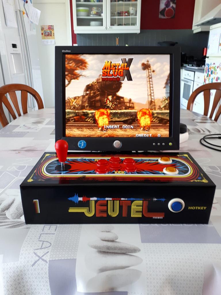 [DIY] Panel Neo-Geo homemade 20190615