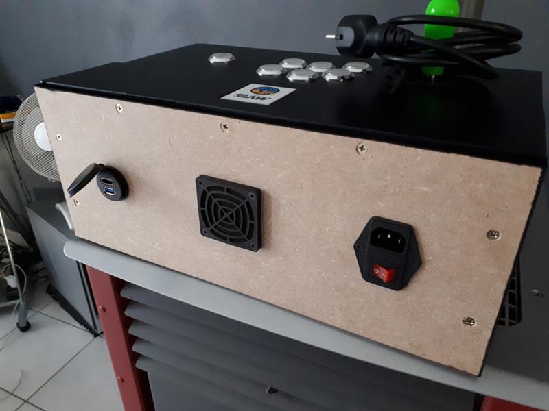 [DIY] Panel Neo-Geo homemade 20191010