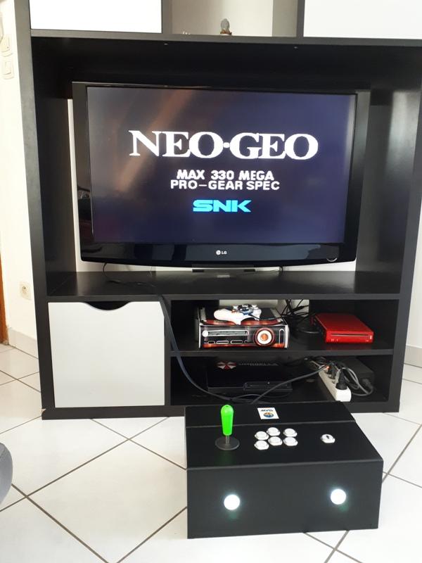 [DIY] Panel Neo-Geo homemade 20191012
