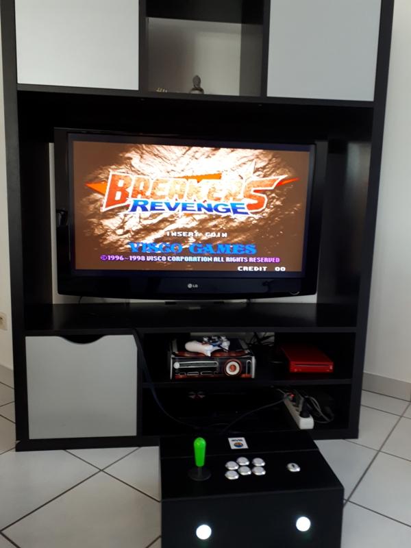 [DIY] Panel Neo-Geo homemade 20191013