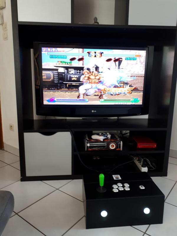 [DIY] Panel Neo-Geo homemade 20191014