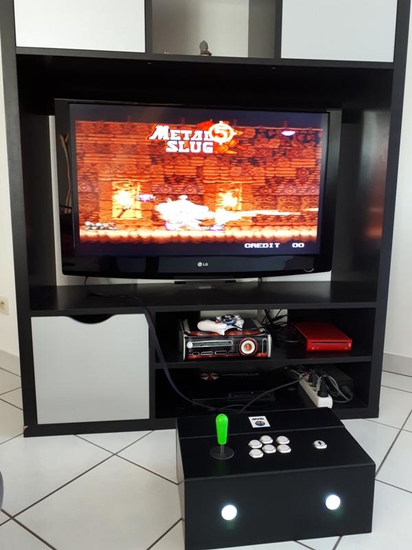 [DIY] Panel Neo-Geo homemade 20191017