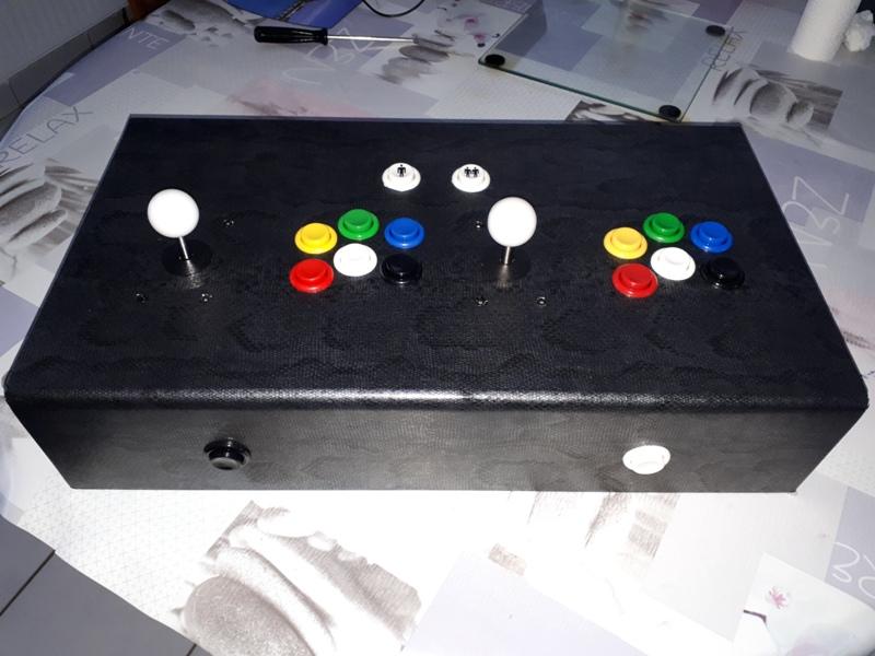 [DIY] 3ème projet: Mini borne 2 players (100%) 20191110