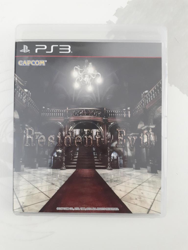 [VDS/ECH] La boutique de PsychO: Ajout Resident Evil HD Remaster PS3 20200810