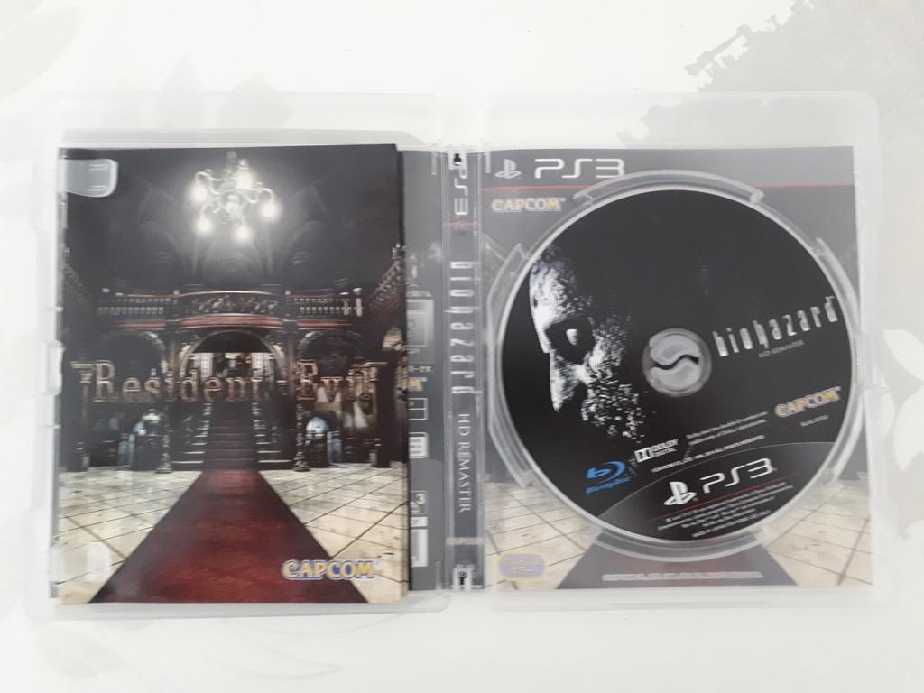 [VDS/ECH] La boutique de PsychO: Ajout Resident Evil HD Remaster PS3 20200812