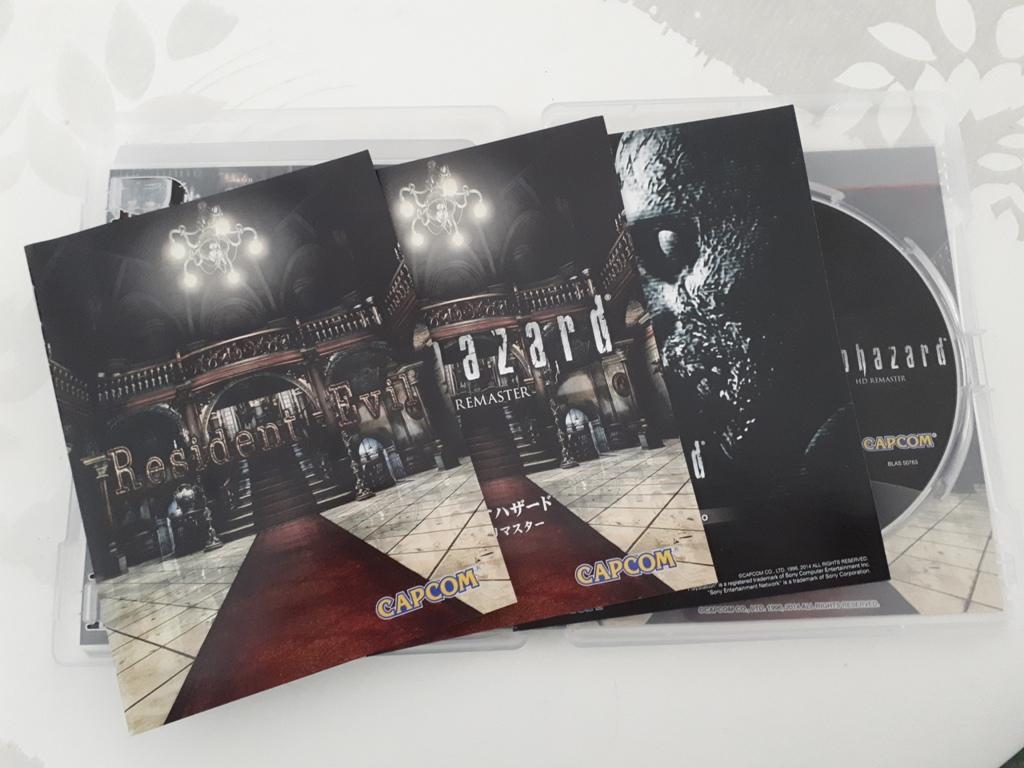 [VDS/ECH] La boutique de PsychO: Ajout Resident Evil HD Remaster PS3 20200813