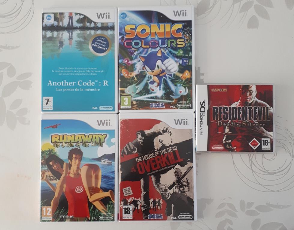 [ACH] Du Nintendo DS/3DS/Wii : pour en finir une bonne fois pour toute;) 20200910