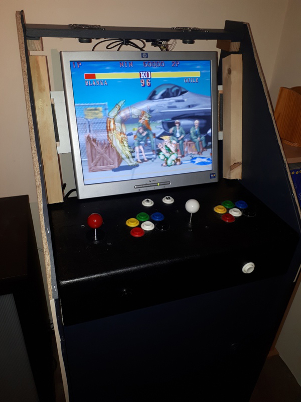 [DIY] 3ème projet: Mini borne 2 players (100%) 20201113