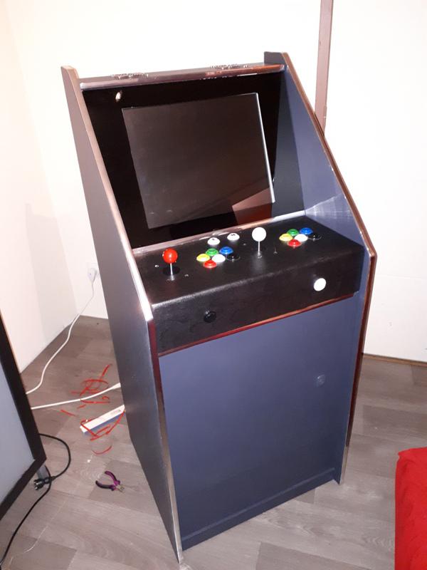 [DIY] 3ème projet: Mini borne 2 players (100%) 20201213